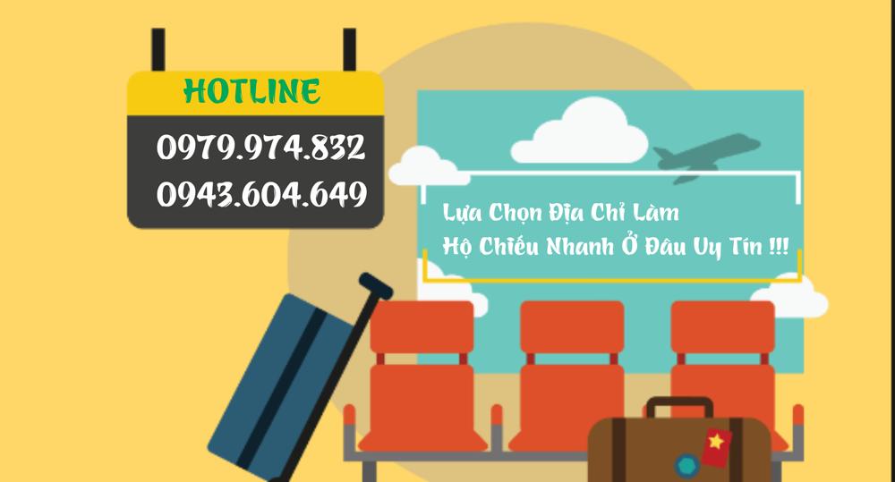 Dịch vụ làm hộ chiếu nhanh tại Hà Nội - 0943.604.649 - 0979.974.832